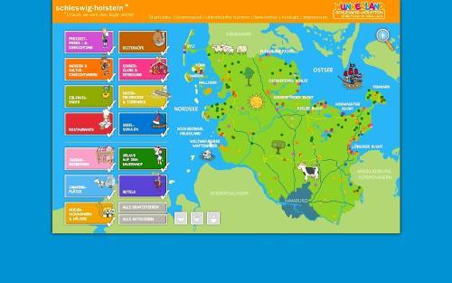 Karte Ostsee Schleswig Holstein.Familienurlaub Bequem Im Internet Buchen Die Wunnerland Karte Ist