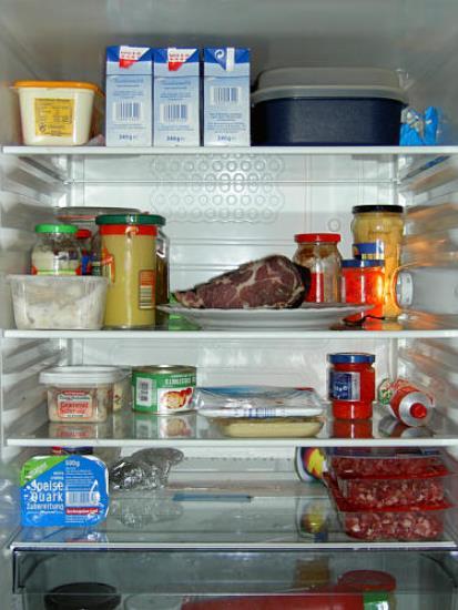 richtige lgerung im kühlschrank