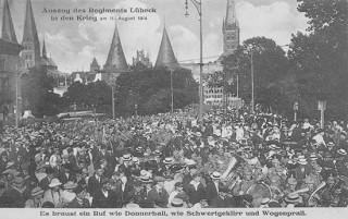 Ausmarsch Regiment Lübeck_2