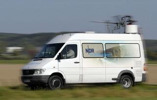 Via Ü-Wagen geht die Hanse Sail direkt On Air _ Verwendung honorarfrei bei Angabe (c)NDR