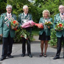 v.l. Ekkehard Merbeth, Alfred Strehlau, Grazxna Jatzek, Manfred Spehr
