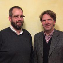 Neuer und alter Vorsitzender: Martin Maack und Wolf-Dietrich Bartsch (v.l.n.r.)