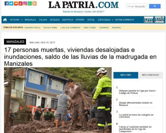 Kolumbien_La Patria.com