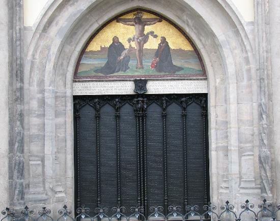 Wittenberg_Thesentuer_Schlosskirche1