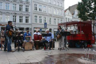 Auftritt der Band M7 der Marli GmbH