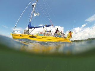 Das Forschungsschiff ALDEBARAN ermöglicht ungewohnte Perspektiven Foto(c): ALDEBARAN Marine Research & Broadcast