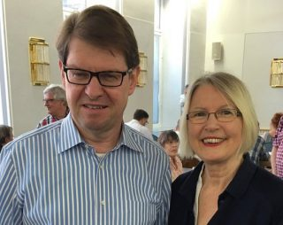 Ralf Stegner und Gabriele Hiller-Ohm (Foto: Hiller-Ohm)