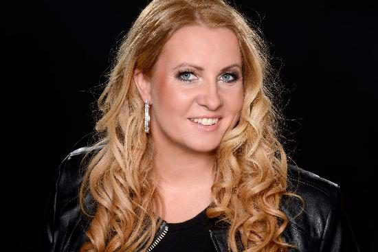 Sängerin Tina van Beeck