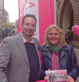 Foto (Die Linke): Kathrin Weiher und Sebastian Kai Ising