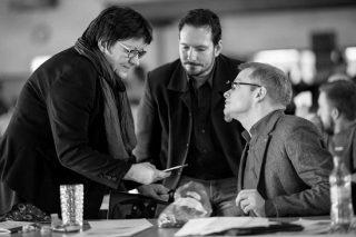 Foto: ( DIE LINKE) MdB Lorenz Gösta Beutin (rechts) und Sebastian Kai Ising wollen die Diskussion um das Bedingungslose Grundeinkommen in die Stadtteile tragen