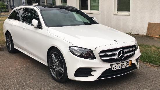 Entwendeter Mercedes Trittau